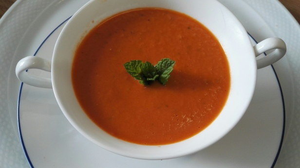 Minted Tomato Soup