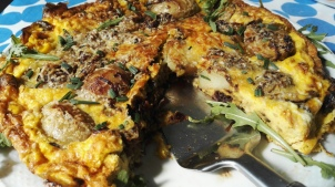 Spinach & Potato Fritatta