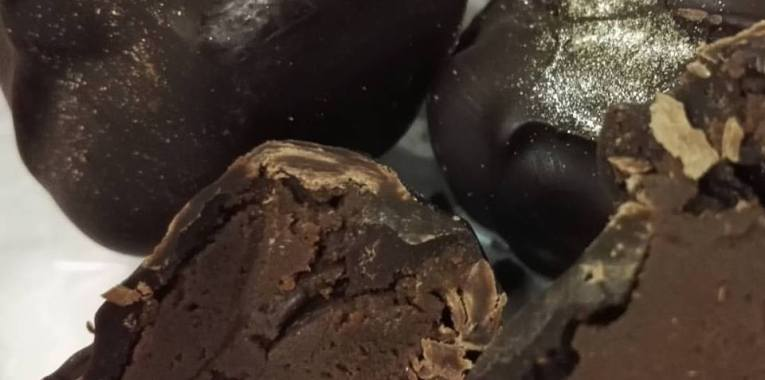 Belgian Chocolate Truffles, 100% Homemade.