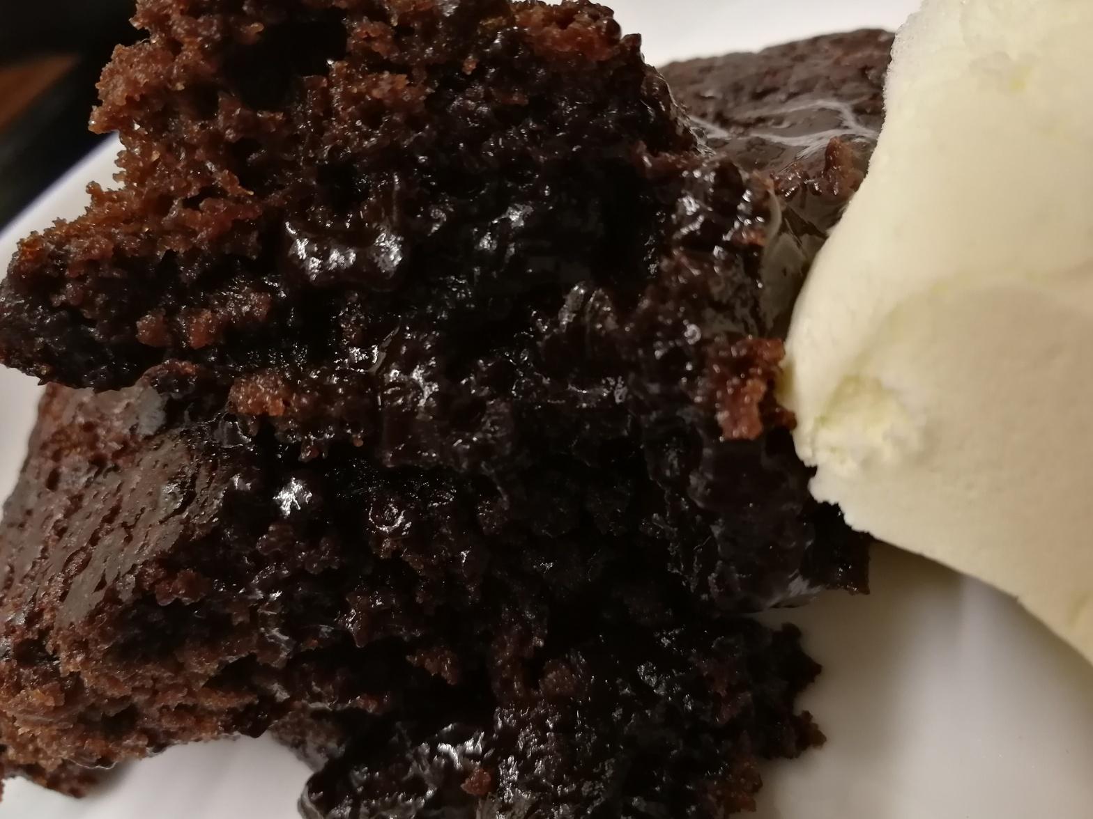 pudding, chocolate, banana, sticky, treat