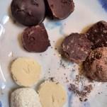 food, chocolates, truffles, home made, cakes