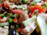Salad, healthy eating, Mediterranean diet, Olive, Anchoviess