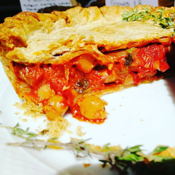 Vegetarian, Spelt pastry, Homemade food, Chickpeas, Low FodMap diet