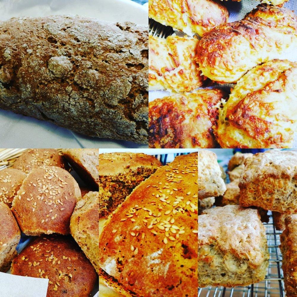 Bread, Baking, Bakery, Home made, Low Gluten