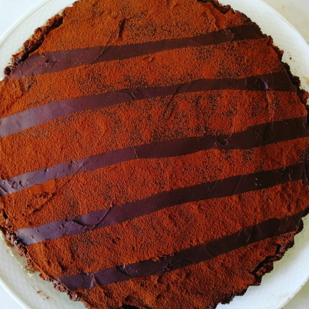 food, baking, chocolate, peanut butter, tart, pie