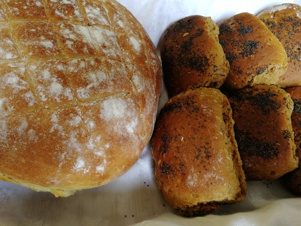 Bread, Seeds, Spelt, Rye. Organic