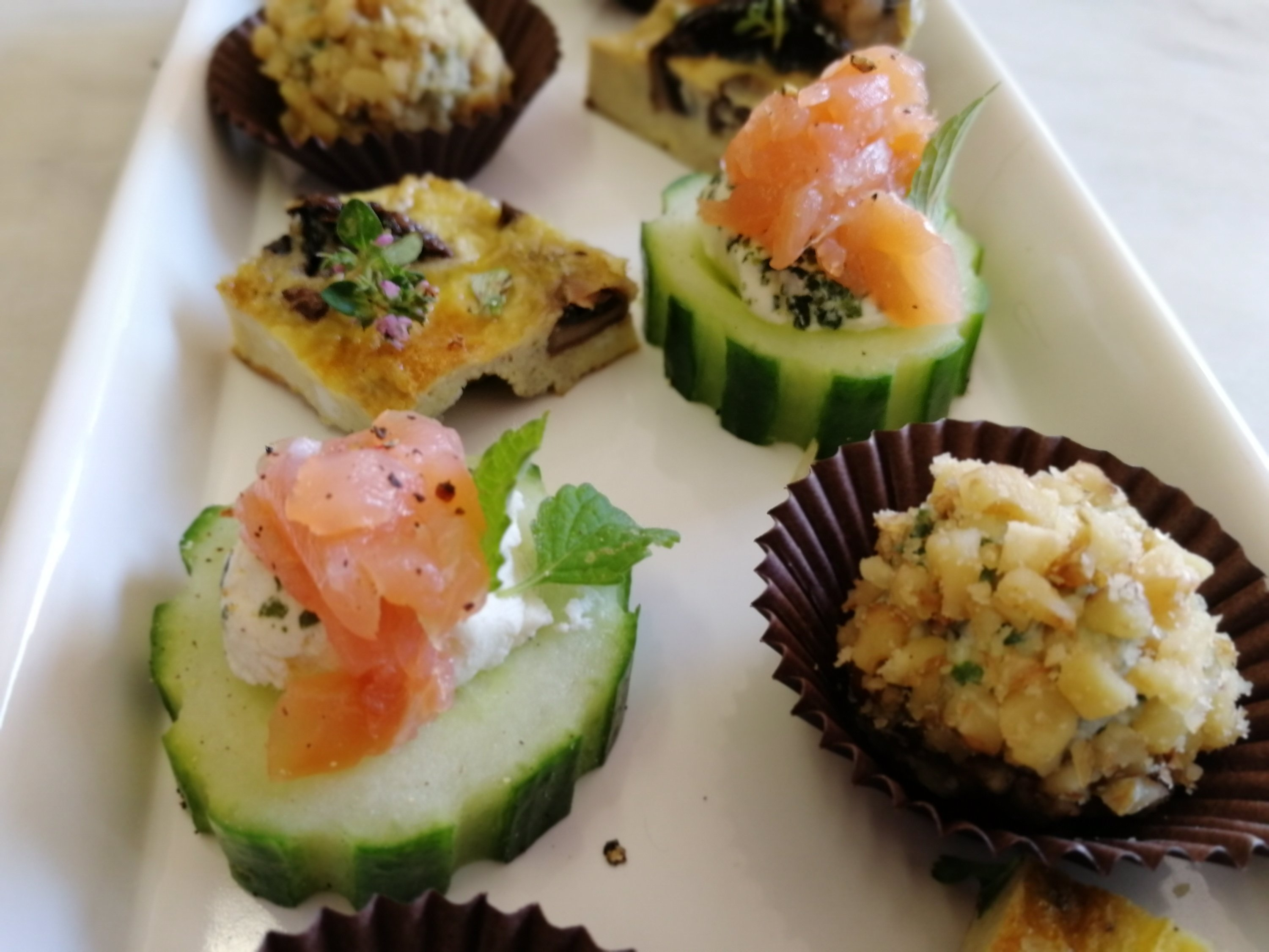 Nibbles with drinks, gluten free, Vegetarian, made to order, fresh food