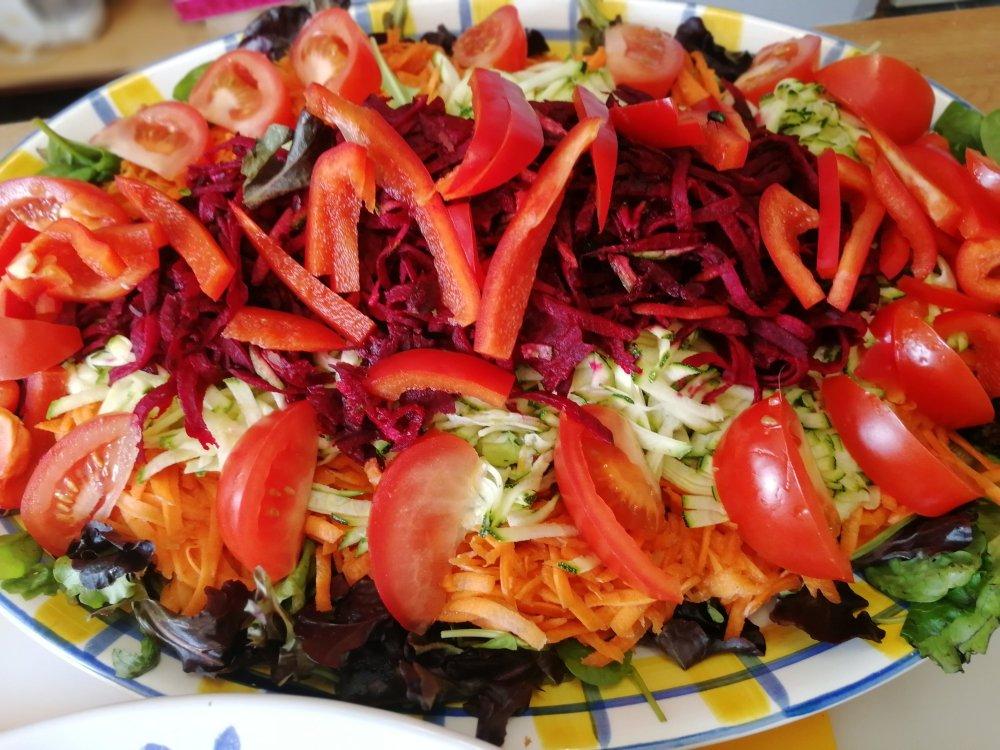 salads, grated salads, mixed salads, shredded salads, vegetables