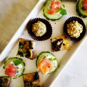 Canapes, Gluten free, Drinks, Gin Party, Nibbles