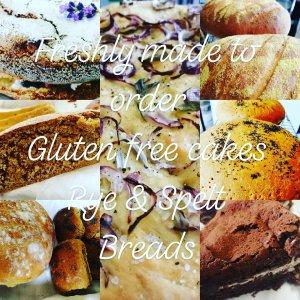 Artisan bread, baking, bakery, Gluten free cakes, organic