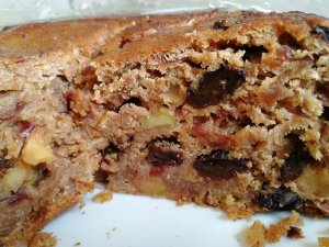 cake, fruit cake, spelt, low gluten, cider