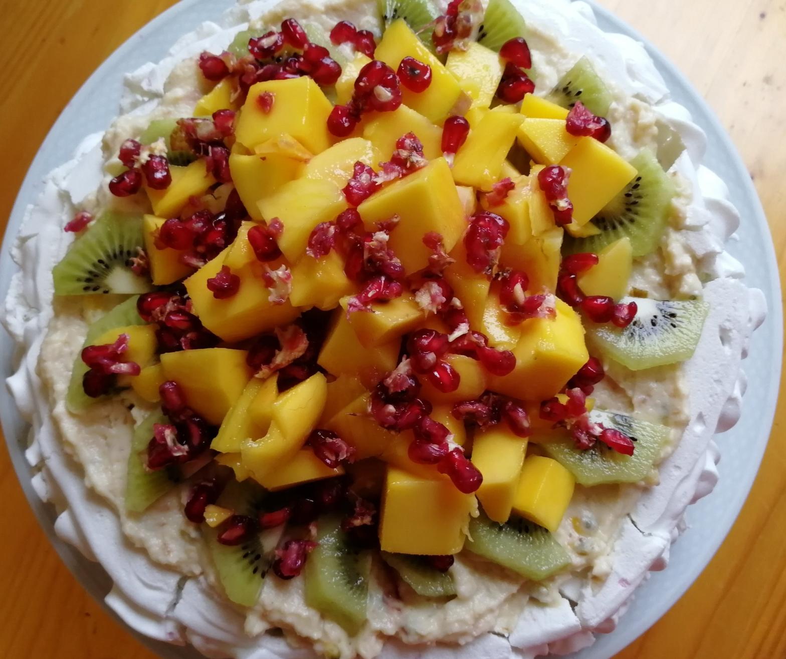 Tropical fruit, Aquafaba, meringue, baking, GBBO,