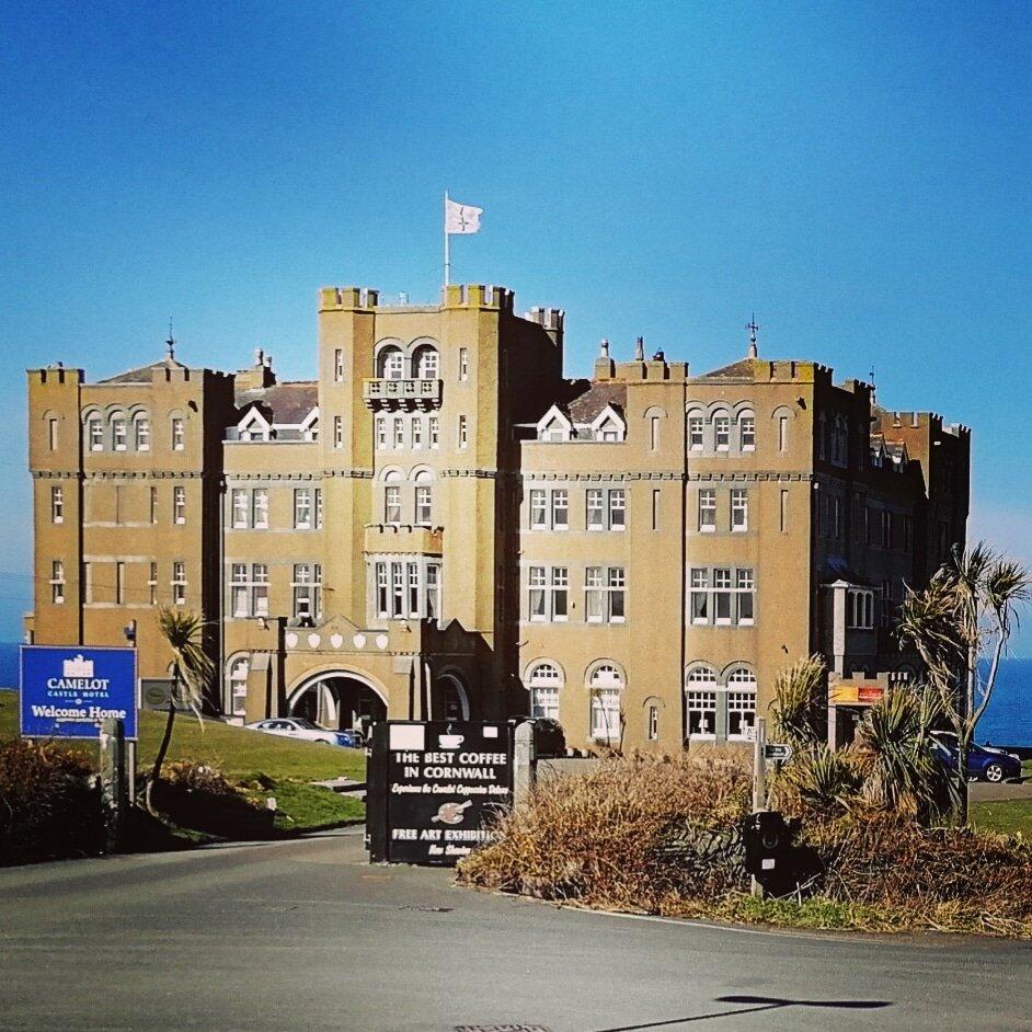 Camelot Castle Hotel, Tintagel.