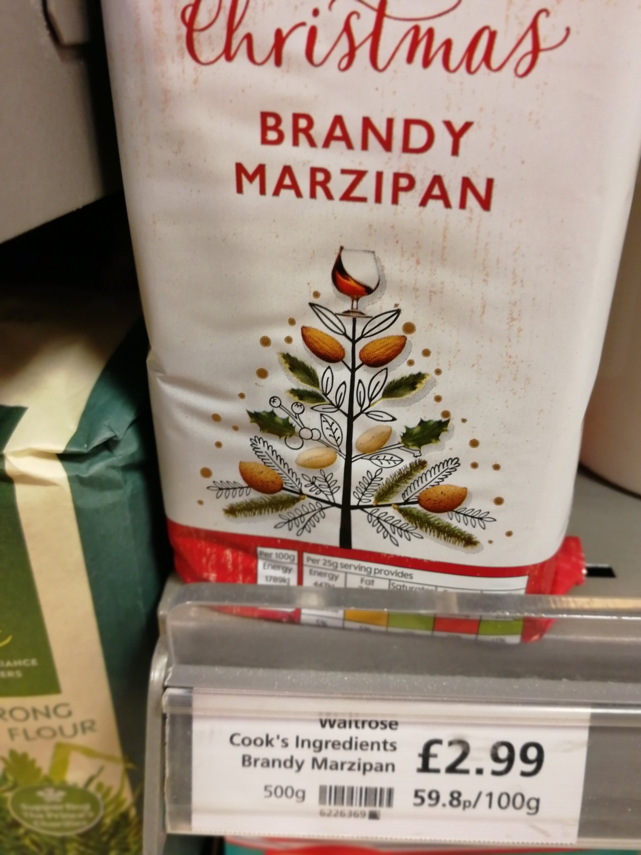 Make your own, Marzipan, Almonds, Sugar, glutenfree